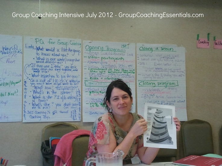 Participating coaches brought great tools and processes for groups.