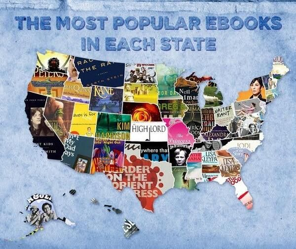 Popular eBooks by State