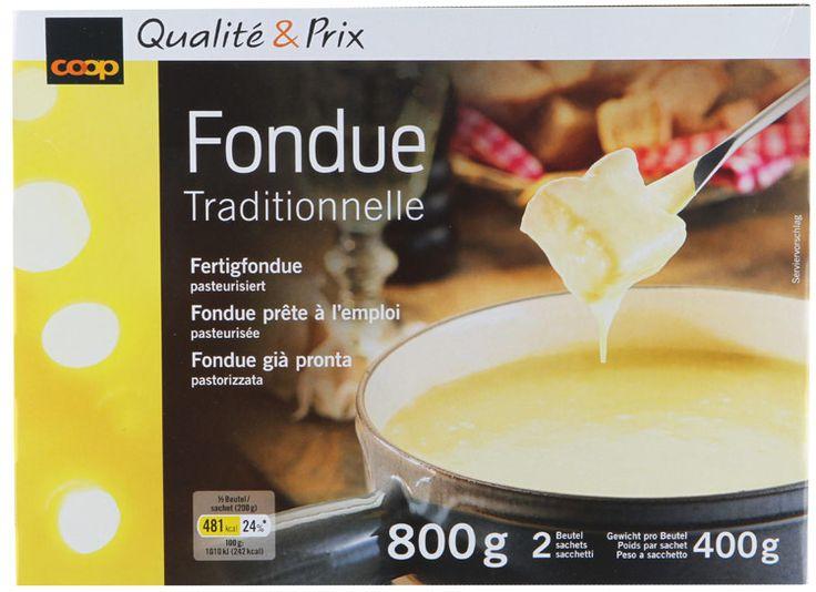 Fondue - ready to heat, no extra ingredients needed