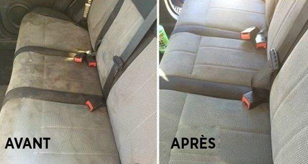 Voici une astuce très efficace pour enlever les taches, en particulier sur les sièges de la voiture, qui ne nécessite que des produits simples qui se trouvent dans votre maison.
