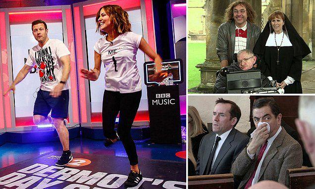 Comic Relief reaches £1BILLION mark after bumper show