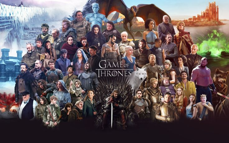 TV Show Game Of Thrones  Jon Snow Tormund Giantsbane Davos Seaworth Samwell Tarly Melisandre (Game Of Thrones) Hodor (Game Of Thrones) Ygritte (Game Of Thrones) Eddard Stark Gilly (Game Of Thrones) Ramsay Bolton Jaime Lannister Daenerys Targaryen Sansa Stark Wallpaper