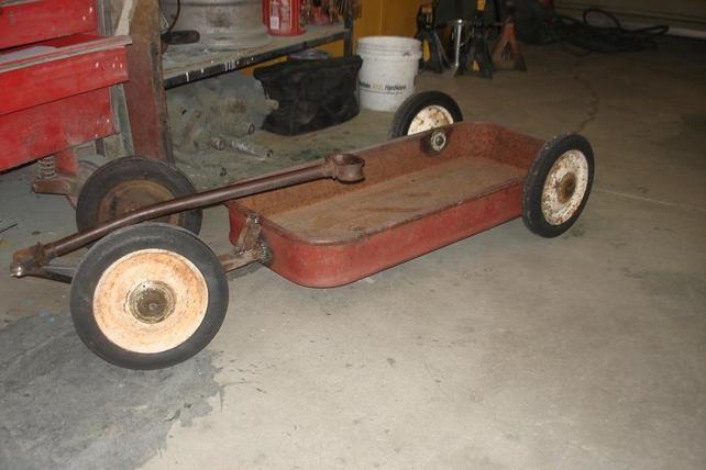 Cool Rat Rod looking wagon