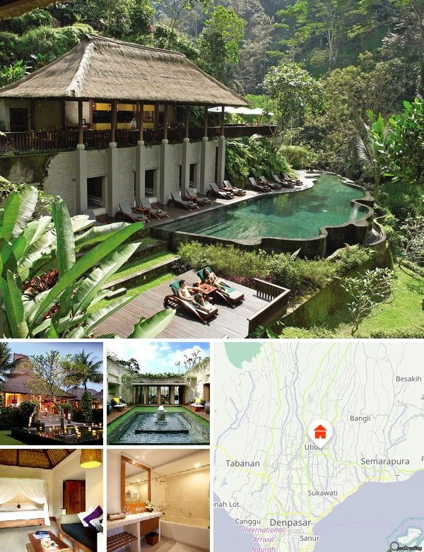 Maya Ubud Resort Bali (Ubud, Indonesia)