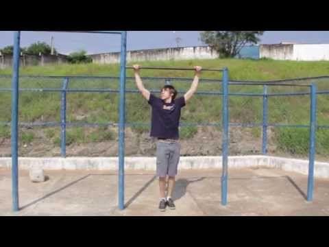 Primeira Elevação na Barra Fixa - Tutorial - YouTube