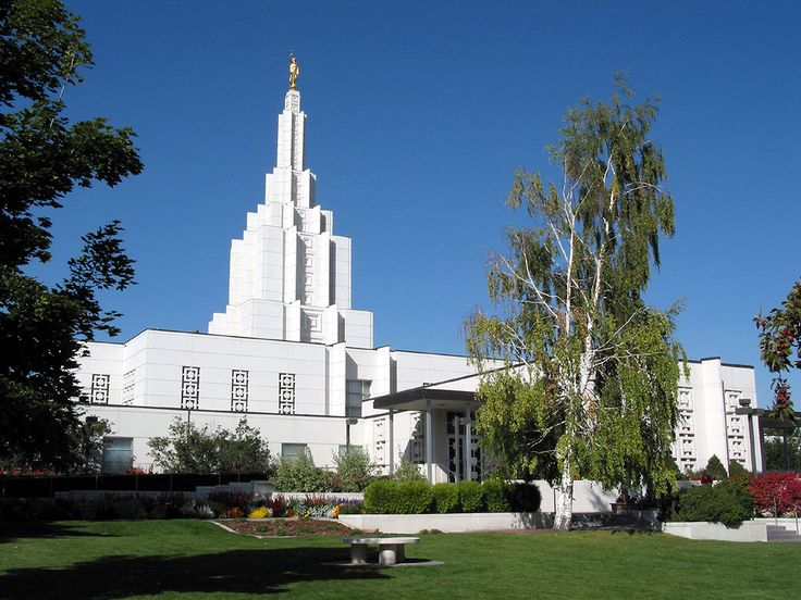lds temples | Idaho Falls Idaho LDS (Mormon) Temple Photograph Download #1