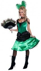 Vintage Saloon Girl Costume