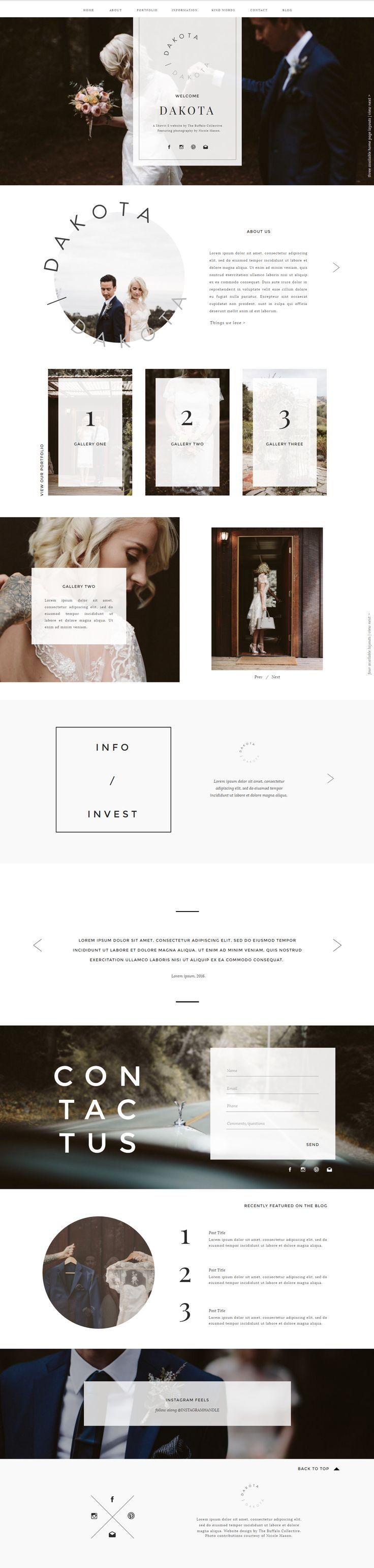 Beautiful and simple site design.