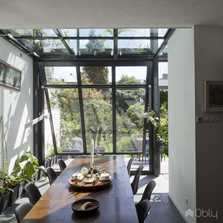 25 beste idee n over jaren 39 30 huis op pinterest alkoof rekken victoriaanse open haard en - Uitbreiding huis glas ...