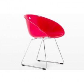 Quadre Design Krzesło Kombo czerwone