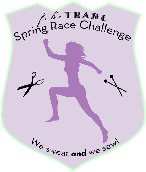 Spring Race Challenge by fehrtrade: sew at least one item of exercise clothing, sign up for a race and race in your handmade awesome gear!