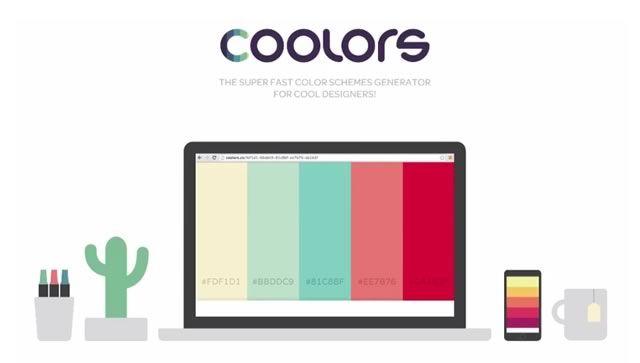 次々とセンスある配色パターンを提案してくれるサイト「Coolors」  スペースキーを押すと、いい感じの配色パターンを次々と生成してくれます。...