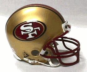 49ers helmet pic | ... size San Francisco 49ers helmet Buy mini San Francisco 49ers helmet