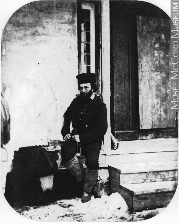 John McKay, Mr. Hind's guide, a Cree Metis, MB, 1858