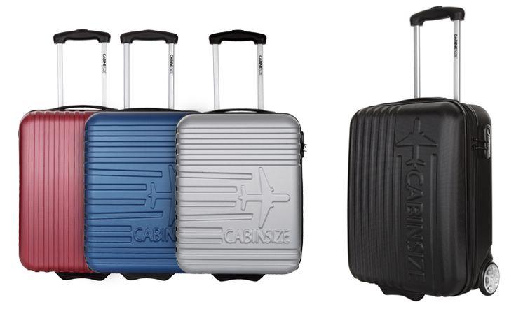 Βαλίτσα Καμπίνας Fly, με 2 Ροδάκια & Πτυσσόμενη Λαβή για Άνετα Low Cost Ταξίδια Μόνο με 54,90€