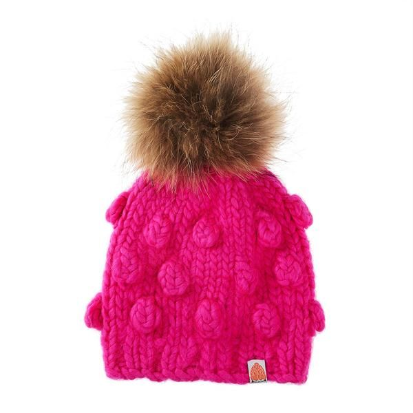 c1ee3920936 Sh t That I Knit Campbell Beanie in On Wednesday s We Wear Pink Knit Beanie