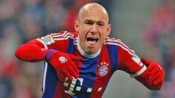 Zum Verzweifeln: Bayern-Star Arjen Robben beim 1:1 gegen Schalke