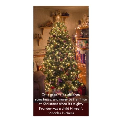 Christmas Tree Photo Greeting Card by Florals by Fred #zazzle #gift #photogift
