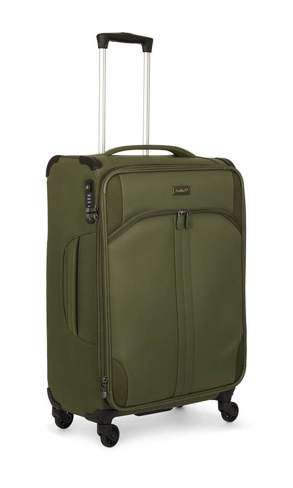 Aire Medium Suitcase Khaki | Soft Suitcase | Antler UK