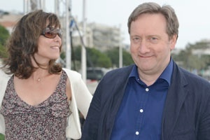 Inspector Barnaby was in Cannes! Neil Dudgeon (Chief Inspector John Barnaby), Fiona Dolman (John Barnaby's wife), Jason Hughes (Inspector Barnaby's assistant).