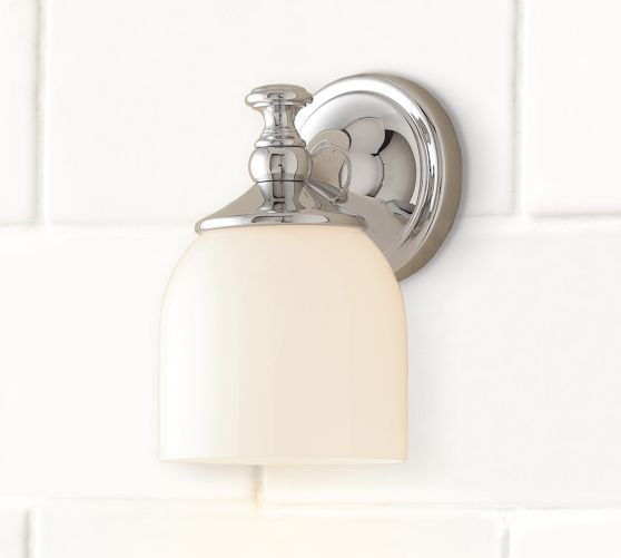 Bathroom Sconces Pottery Barn 18 best bathroom lighting images on pinterest | bathroom lighting