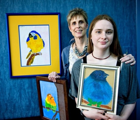 Maryland autism foundation hosts art show to promote autism awareness - The Washington Post