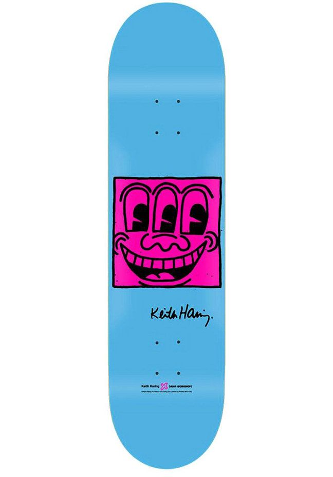 ALIEN WORKSHOP Deck Haring TV Face Small 8.00 one colour #planetsports