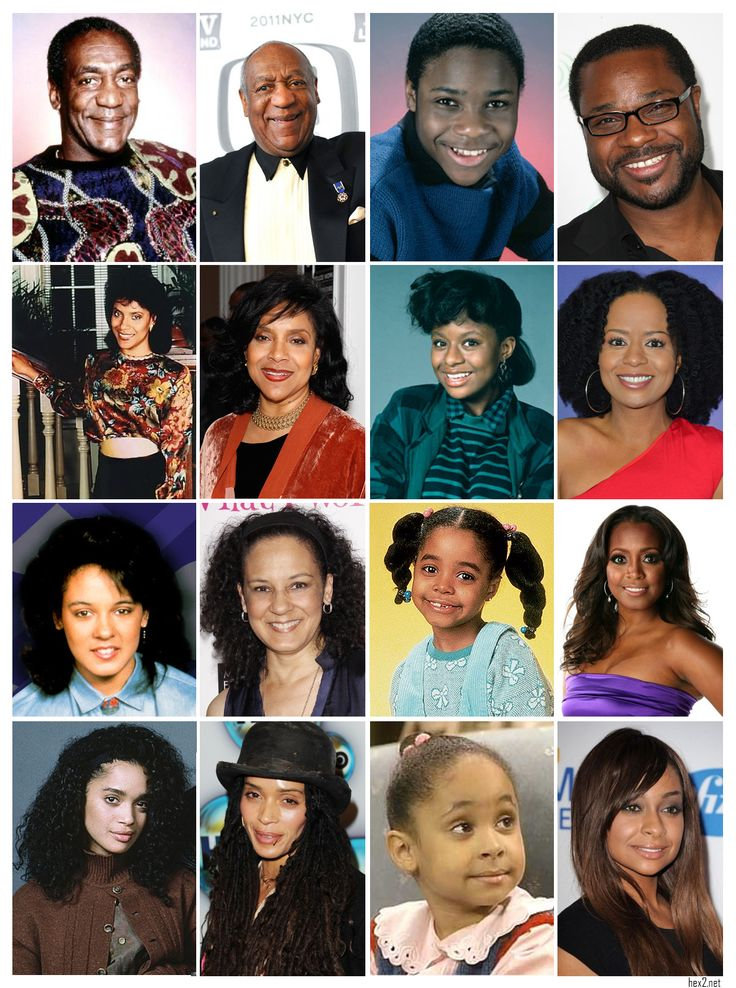 Cosby Show- Then and Now