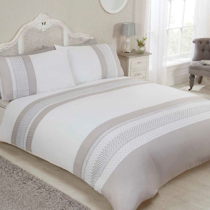 Rapport Home Emma Duvet Cover and Pillowcase Set #Rapport #Contemporary