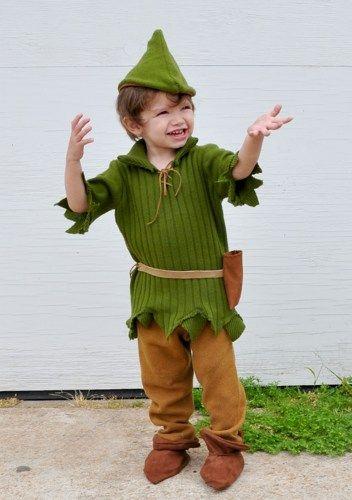 Peter Pan-Robin Hood  halloween costume kids boys. | zorraindina - Seasonal on ArtFire