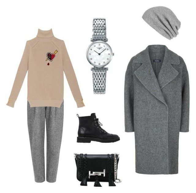 """Calm autumn"" by lupik on Polyvore featuring мода, Tod's, White + Warren, MaxMara, Acne Studios, Longines и Giuseppe Zanotti"