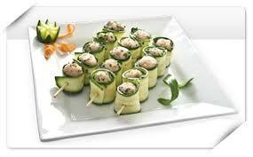 involtini zucchine con pollo