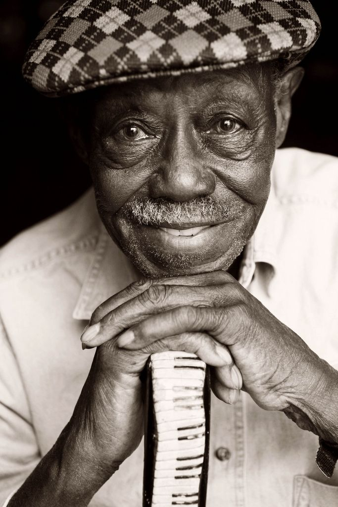 Pinetop Perkins, we saw him one time at Midway Tavern.  he was amazing