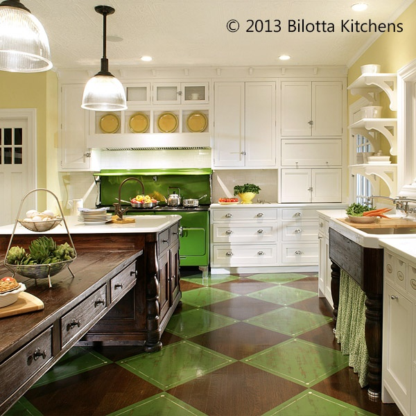 "French Country Kitchen Green: 16 Best ""Emerald"" Green Shades For May! Images On"