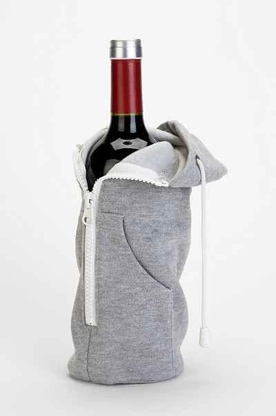 Zip it Up Wine Bottle Hoodie / Urban Outfitters