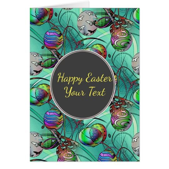Happy Easter Easter Egg Greeting Card