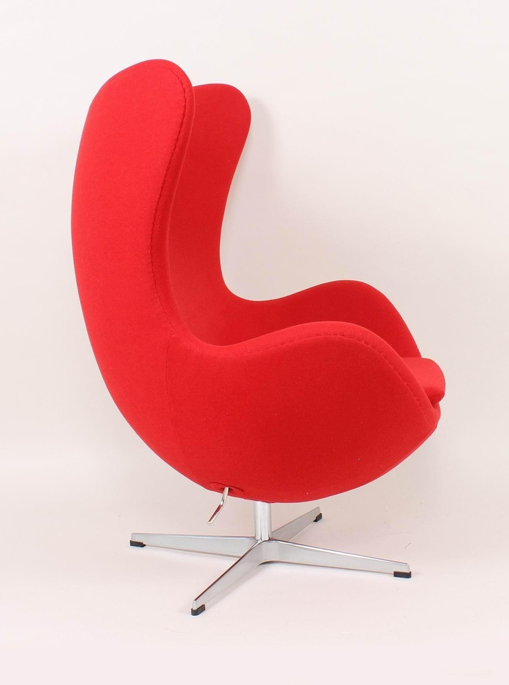 Control Brand Fb 8308red Egg Chair Fb8308red Modern