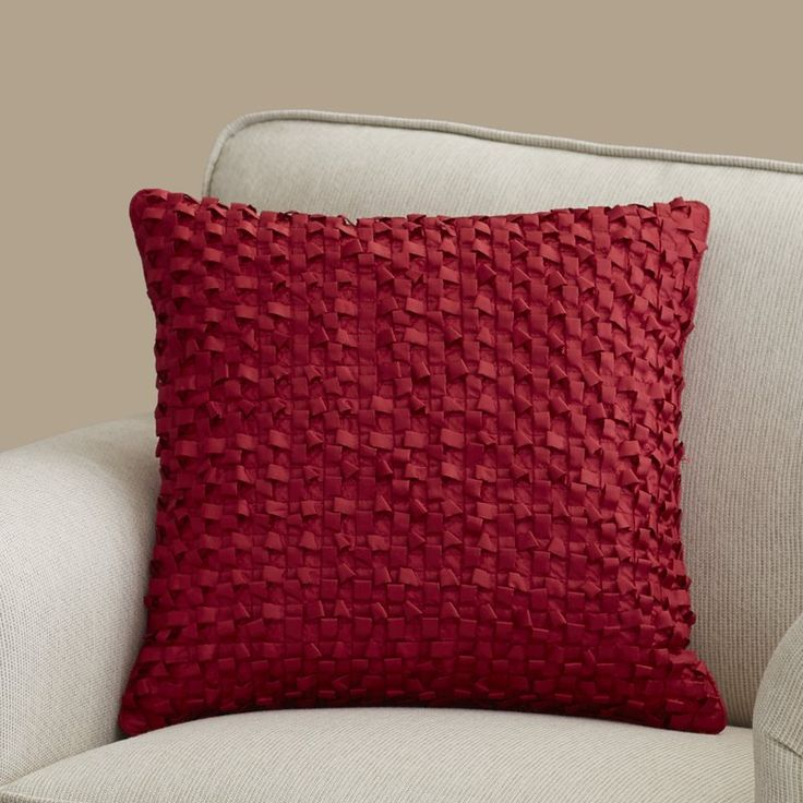 Nepheline Synthetic Throw Pillow