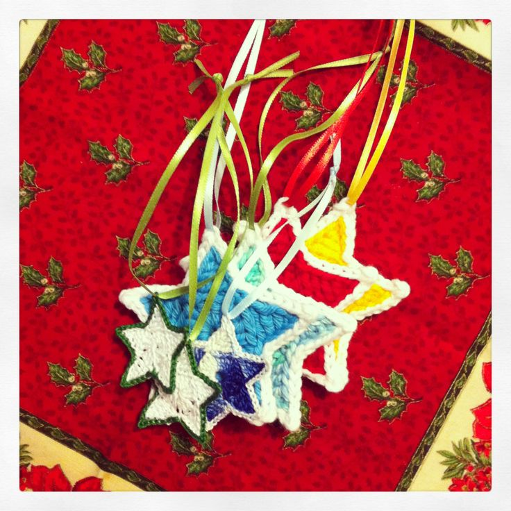 Christmas stars for my students  December 2012