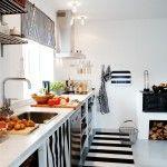 Siyah Beyaz Mutfak | | Dekorasyon Cini