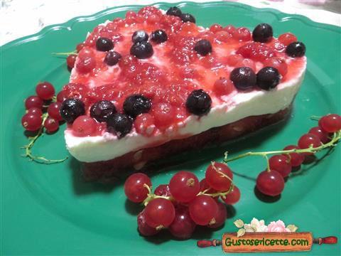 Cheesecake anguria e frutti di bosco - Gustose ricette di cucina