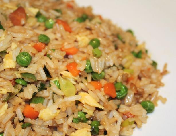 Fried rice - I'm on the hunt for a recipe that actually tastes like the rice you get at a Chinese restaurant. This is my next try. I think I may add bean sprouts as I love them in fried rice!