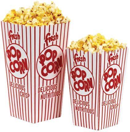 Popcorn as prop