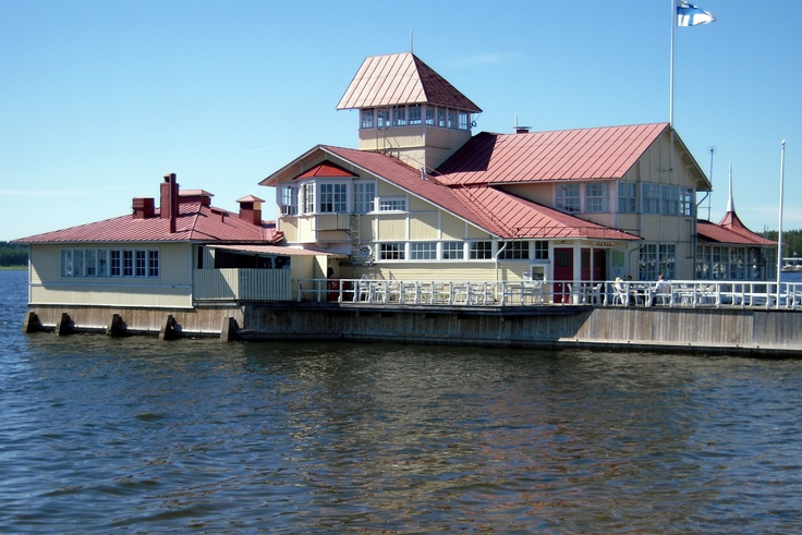 A delightful waterfront restaurant at Tammisaari, Ekenäs Finland