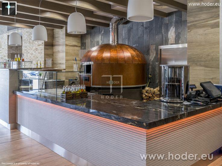Hoder - realizacje wnętrz z kamieniem naturalnym. #Hoder #kamień #granit #onyks #marmur #projektowanie #wnętrza #aranżacje #home #stone #ideas #marble #granite #luxury #restaurant