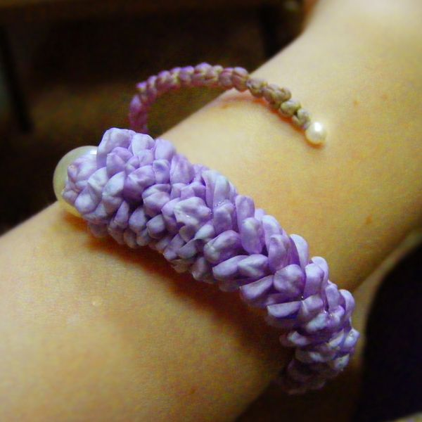 lilac braselet