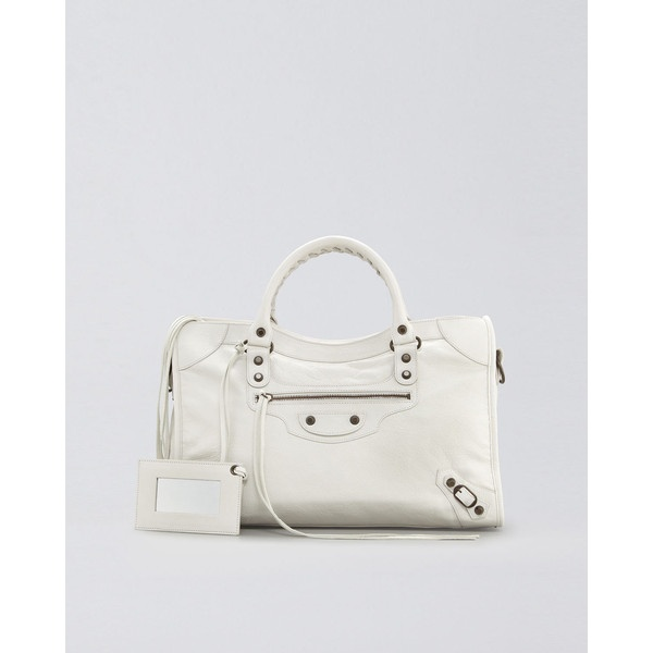 Balenciaga Classic City Bag, Bianco Light found on Polyvore: Balenciaga Classic, Classic Cities, Bianco Lighting,  Electric Switch, Cities Bags