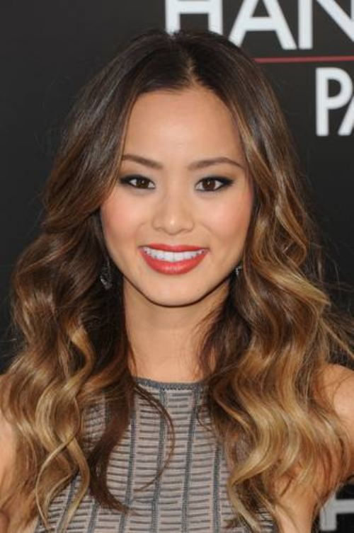 Ombre on an Asian.