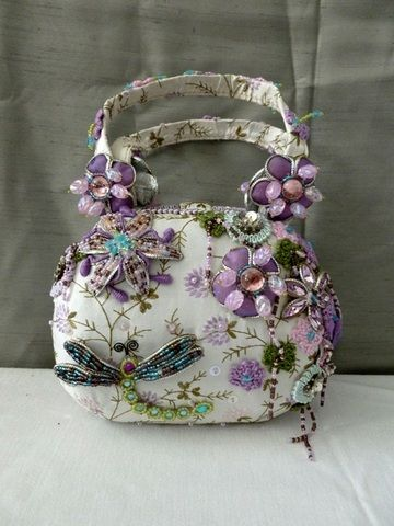 """I love the colors on this one.  Bucket list:  but a """"practical"""" Mary Frances handbag in 2015."""