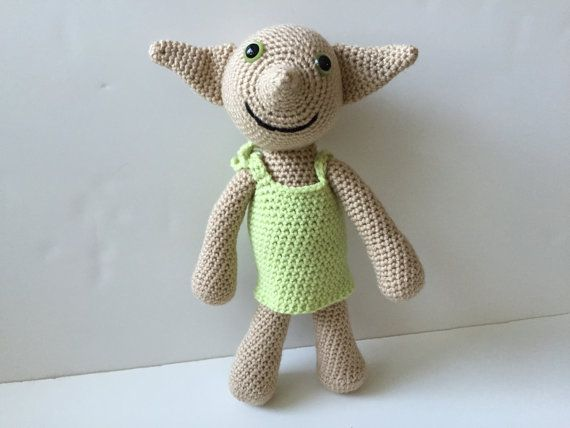 Dobby Harry Potter Amigurumi : 1000+ images about Crochet Dobby From Harry Potter Movie ...